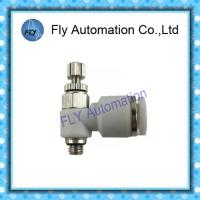 Wholesale GRLA-M5-QS-6 162962 One Way Air Flow Valve , Throttle Valve Pneumatic Fittings from china suppliers