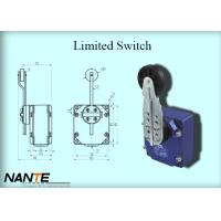 Quality Bigger Plastic Wheel Swing Arm Rotary Blue Limited Switch 1.155 Weight Used In Hoist for sale