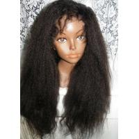 Wholesale 100% Real Brazilian Hair Lace Front Wigs , Virgin Front Lace Wigs For Black Women from china suppliers