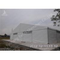 Wholesale Large Span Aluminum Frame Industrial Storage Tents , Temporary Storage Tents from china suppliers
