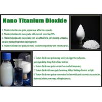 Wholesale Industrial Nano Tio2 Coating , Rutile Grade Titanium Dioxide For UVB Protection from china suppliers