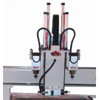 Quality New 2013!! Three workstages wood cnc router with two sides engraving head for sale