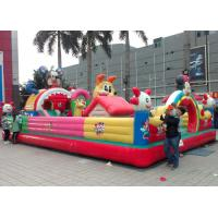 Wholesale Children Topic Commercial Inflatable Amusement Park With PVC Tarpaulin from china suppliers