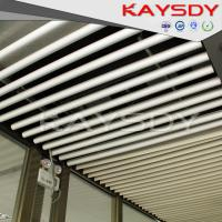 Wholesale Round Suspended Aluminium Baffle Ceiling Environmental For Merto Satation from china suppliers