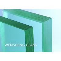Wholesale Safe 6mm Tempered Glass Bullet Resistant Window Building Use from china suppliers