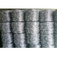 Wholesale Hot Dip Galvanized Barbed Wire , Low Carbon Steel Weave Gi Wire Mesh from china suppliers