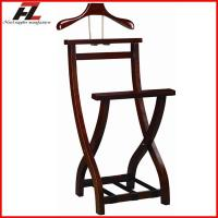 Wholesale Hotel Folding Wood Men Valet Stand-Clothes Stand from china suppliers