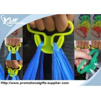 Wholesale Plastic orange, yellow Customized Promotional Gifts carrier bag holders from china suppliers