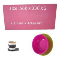 Wholesale kitchen living silicone mat ,cheap silicone cooking mat from china suppliers