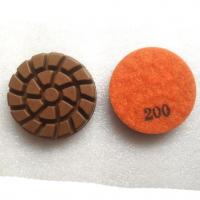 Wholesale Spiral Concrete Floor Resin Bond Diamond Dry Wet Polishing Pads from china suppliers