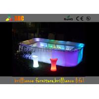 Wholesale 16 colors Bar Furniture & bar table nightclub furniture with led lighting from china suppliers