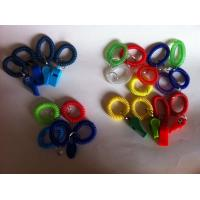 Wholesale Best Quality PU Spiral Coil Bands w/Custom Logo Printing Whistles from china suppliers