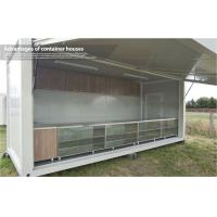 Wholesale Multi Plywood Eco Friendly Modular Container House Shop with PVC Floor from china suppliers