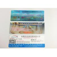 Wholesale OEM PP / PET 3D Lenticular Business Cards , 3D Printing Business Cards from china suppliers