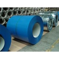 Wholesale Blue Color Coated Galvanized Steel Coil , Polyester Paint Color Steel Coil from china suppliers