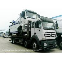 Wholesale North Benz Heavy Duty Flatbed Wrecker Tow Truck With Hydraulic Winch 25m from china suppliers
