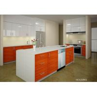 Wholesale Eco-friendly Laminated Kitchen Pantry Storage Cabinet , E0 Standard from china suppliers