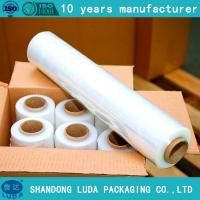 Wholesale Manual filme strech/Heavy Duty Shrink Wrap Film FOR SALE pre stretch 280% from china suppliers