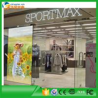 Wholesale P5 Transparent Glass LED Display Ultra Thin Indoor Full Color LED Screen from china suppliers