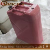 Wholesale Pink Costomized Color Metal Petrol Jerry Cans 5L/ 10L / 20L Capacity from china suppliers