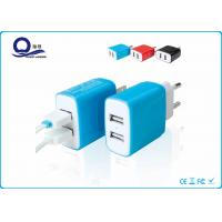 Wholesale 5V 2.4A Dual Port Smart Iphone USB Charger For Samsung Cellphone / Mobile Phone from china suppliers