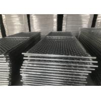 "Wholesale American Standard 8'x10' aperture2.25""(57mm) 2.375""(60mm) 2.5""(63mm) HDG temporary chain link construction horading pane from china suppliers"