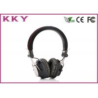 Wholesale Custom Bluetooth 3.0 Headphones , Black Bluetooth Headset For Android Phone from china suppliers