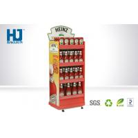 Wholesale Retail Tomato Sauce Cardboard Pallet Display Counter, Quality Guarantee Customized Stand from china suppliers