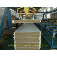 Light Weight Construction Material Polyurethane Sandwich Panel For Cold Room