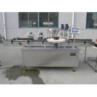 Wholesale Rotary Type 8 Head Vitamin Liquid Filling Capping Machine For Plastic Glass Bottle Touch Screen Operation from china suppliers