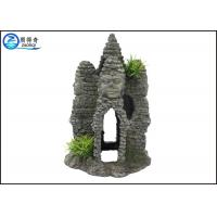 Wholesale Temple Castle Resin Decorative Rockery Aquarium Resin Ornaments Landscaping Crafts from china suppliers