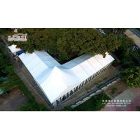 Wholesale 500 Guests Alumium Frame Wedding Party Tent With Glass Walls Lining Curtain from china suppliers