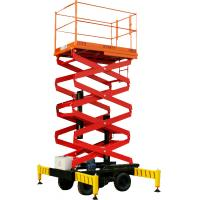 Wholesale 2.3M - 3.2M height  Mobile Aerial Work Platform DC24V , industrial scissor lift from china suppliers