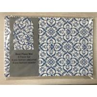 Wholesale Placemat 33 x 46 cm or 45*30 cm 8 pcs per set place mat 4 round 4 square from china suppliers