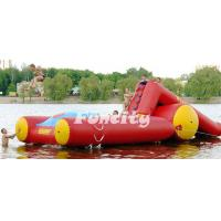 Wholesale 0.9MM PVC Tarpaulin Inflatable Water Toys Water Slide used in Seashore from china suppliers