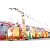 Wholesale SC200/200 4 Ton Twin Cage Construction Hoist Elevator, Building Material Passenger Hoist from china suppliers