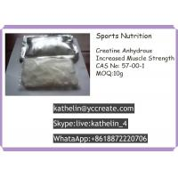 Wholesale CAS No 57-00-1 Pharmaceutical Raw Materials Sports Nutrition Creatine Anhydrous Increased Muscle Strength from china suppliers