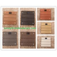 Wholesale Hot sell 300x300mm DIY modern decking tiles 100% recyclable wpc DIY decking tiles from china suppliers