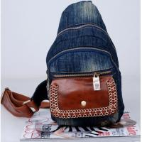 Wholesale wholesale price cowgirl jean backpacks denim free shipping from china suppliers