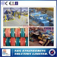 Quality 5T Capacity Aluminum Slitting Machine , Steel Coil Packing Machine Loop Control for sale
