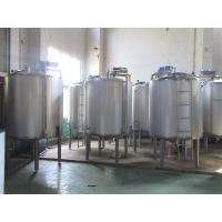 Wholesale CE ISO Food Sterilization Equipment Stainless Steel Fermentation Tanks / Emulsifying Tank from china suppliers