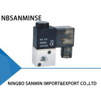 Wholesale High Speed Pneumatic Solenoid Valve , 3 2 Pneumatic Valve Sanmin 3V1 Series from china suppliers