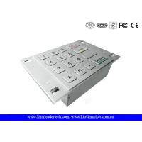 Wholesale Dust Proof Usb Numeric Keypad , Metal Keypad With 4x4 Matrix and Flush Keys from china suppliers