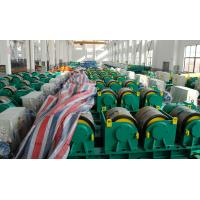 Quality Two Motor Double Drive Conventional Welding Rotator Loading 150T Capacity Rubber Wheels for sale