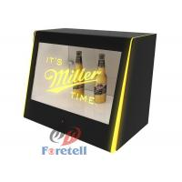 Wholesale Interactive Transparent Touch Screen Monitor Lcd Window Display Box MP3 Audio Format from china suppliers