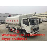 Wholesale Dongfeng 12m3 143hp diesel Euro 5 livestock and poultry feed transportation truck for sale, bulk feed truck for sale from china suppliers