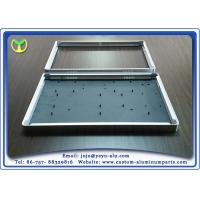 Wholesale Silver Aluminum Furniture Parts Frame Profile Extrusion cnc machining aluminum TV Frame from china suppliers