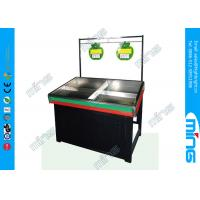 Wholesale Retail Supermarket Display Shelves Vegetable and Fruit Racks Single Side from china suppliers