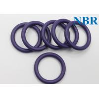Wholesale AS568 Pneumatic Nitrile Orings Waterproof , Encapsulated O Rings 70 FDA ROHS from china suppliers