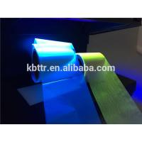 Wholesale Resin ribbon material black to green uv ribbon  90mm*450m for OPP PVC PET printing from china suppliers